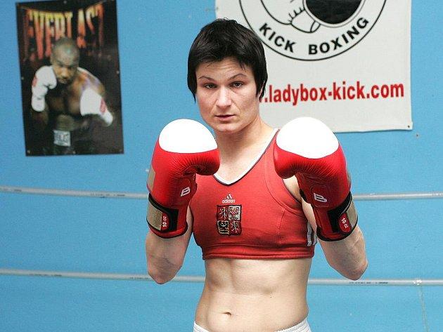 Boxerka Danuše Dilhofová.