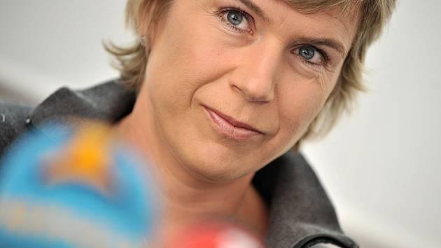 Olympijská vítězka Kateřina Neumannová.