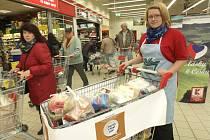 Akce Potraviny pomáhají se konala i v Brně.