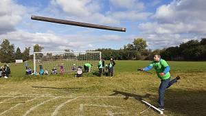 29 mužů a dvě ženy bojovali o vítězství v soutěži Tuřanská kláda. Nejdelší hod kládou měřil 8,12 metrů.