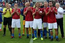Čeští fotbaloví reprezentanti.