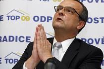 Zakladatel strany TOP 09 Miroslav Kalousek.