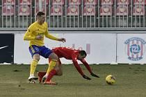 Fotbalisté Zlína hráli v sobotu v Brně bez branek.