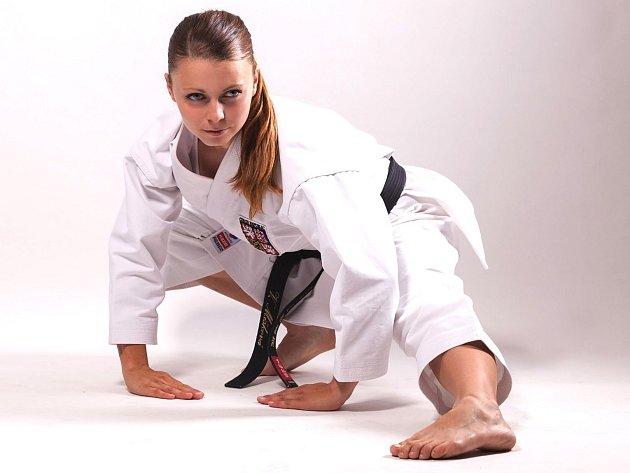 Karatistka Mišková zazářila na mistrovství světa a přiblížila se olympiádě
