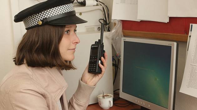 Redaktorka Deníku Rovnost Michaela Římanová si vyzkoušela práci strážníků.