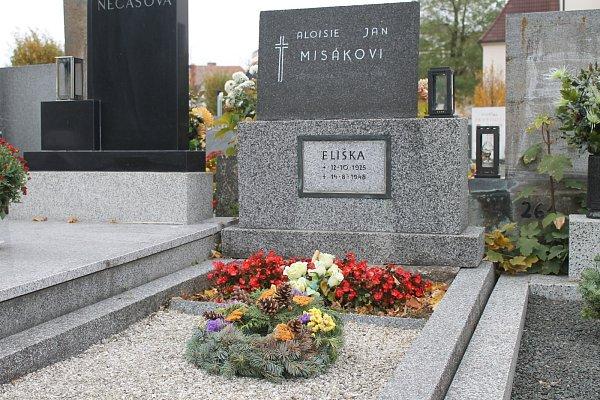 Hrob Elišky Misákové.