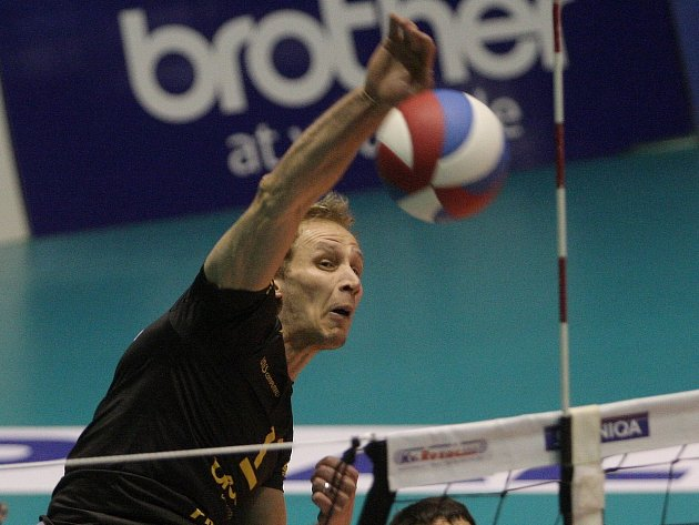 Volejbalista Michal Hrazdíra.