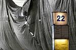 Brno 14.5.2020 - oprava Ústředního autobusového nádraží v Brně na Zvonařce