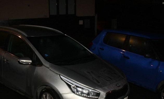 Pětadvacetiletá opilá žena vpondělí odpoledne posprejovala vbrněnských Bohunicích dvě auta a fasádu restaurace.