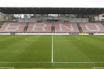 Fotbalový stadion v Srbské ulici v Brně. Ilustrační foto.