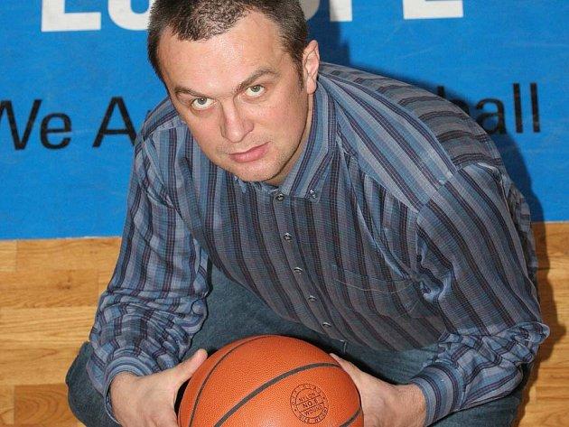 Manažer basketbalistek Gambrinusu Sika Brno Jiří Hamza.