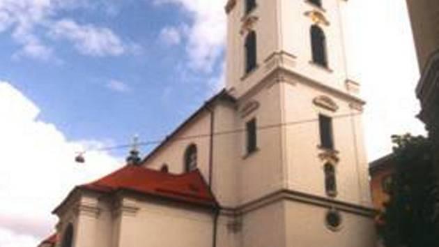 Kostel Nanebevzetí Panny Marie v Brně.