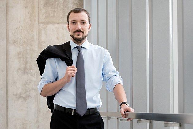 Jednatel Kronospanu Martin Dvořáček.