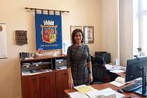 Starostka Králova Pole Karin Karasová.