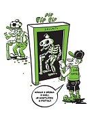 MANUÁL. Ministerstvo vnitra vydalo preventivní plakáty. Rozvášněným a opilým výtržníkům však nejspíš byly pro smích.