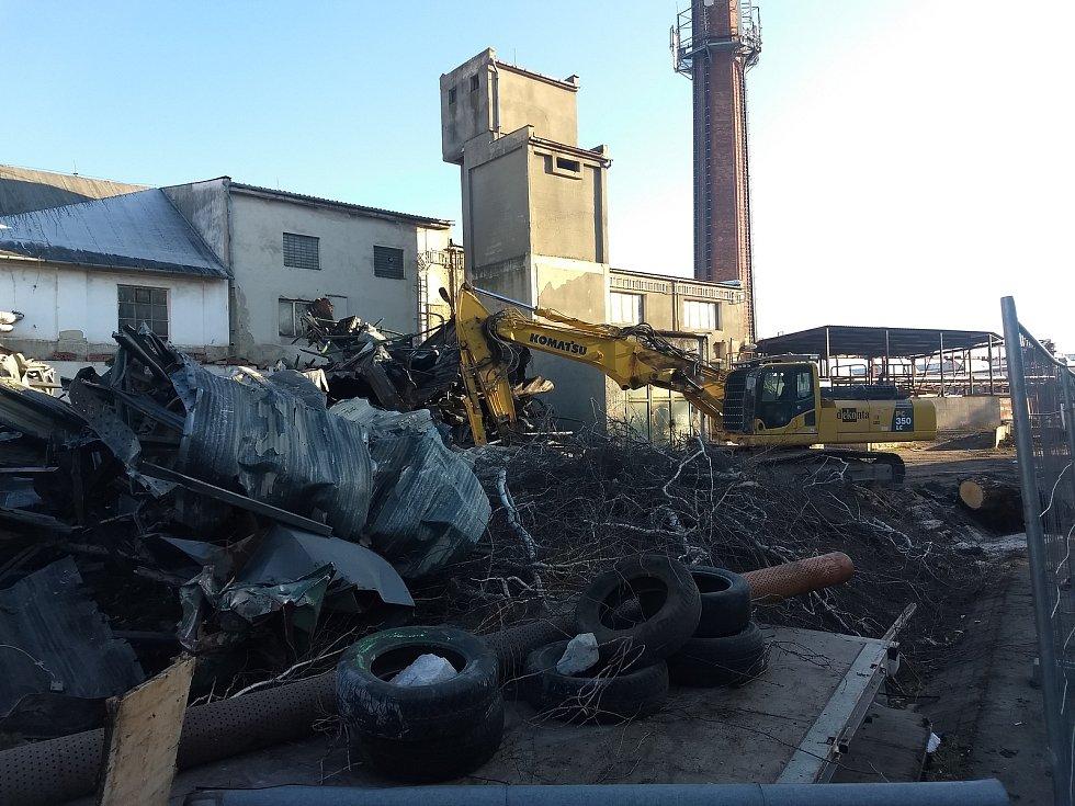 Konec znečištění. Areál bývalého cukrovaru ve Šlapanicích čeká přeměna