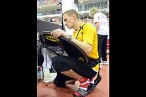 Cyklista Martin Kaňkovský.