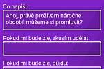 Veronika Kamenská přišla s aplikací Nepanikař.