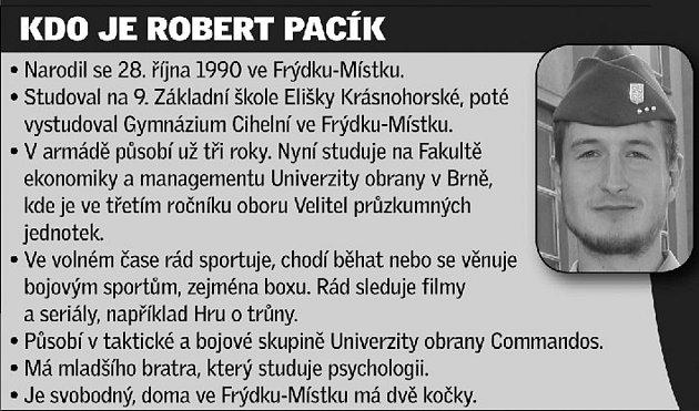 Kdo je Robert Pacík.