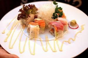 Restaurace Koishi se svými rybími specialitami ovládla kategorii nejlepší brněnské restaurace. Ilustrační foto.