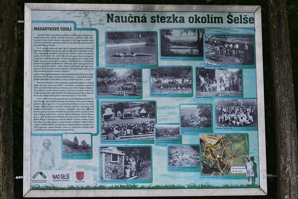 Procházka vedla z brněnského Lískovce do Ostopovic a naučnou stezkou kolem Šelše.