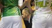 Basketbalistky KP Brno v úvodním zápase EuroCupu prohrály doma s německým Wasserburgem jednoznačně 51:73. Na snímku trenér KP Zdeněk.