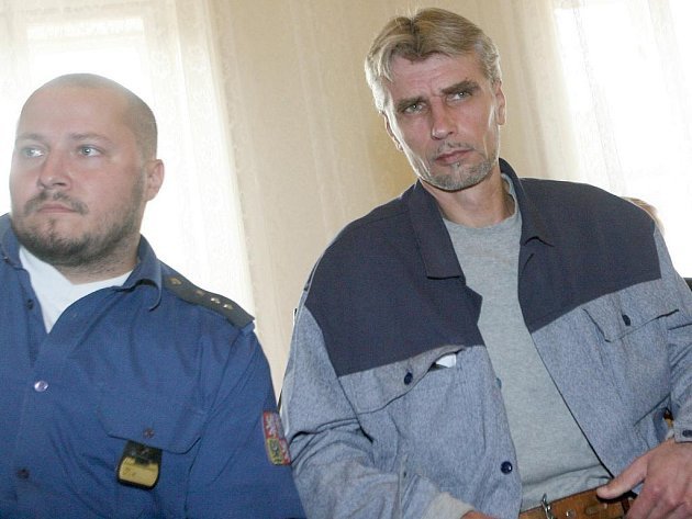 Jiří Večeř, obžalovaný z toho, že nechal zavraždit Marka Lehkého.