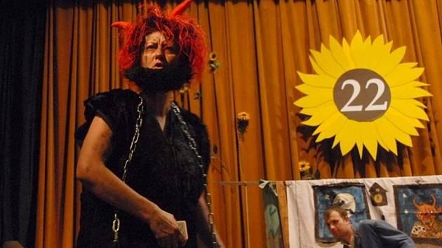 Divadélko Fortel, které spolupracuje se zrakově postiženými, uvádí v posledních letech hlavně pohádky.