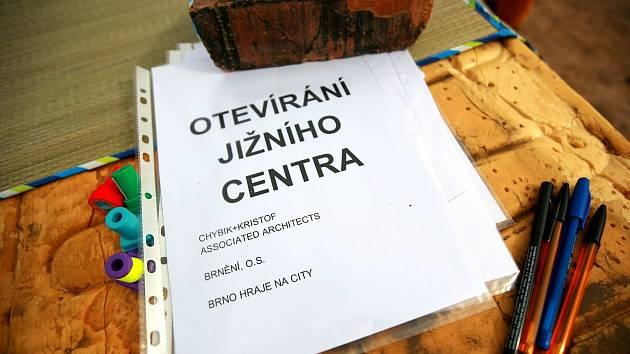 Otevírání Jižního centra v Brně.