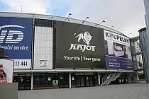 Kajot arena v Brně.