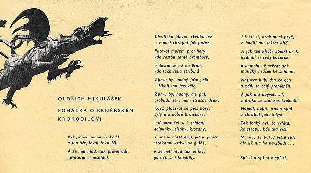 Oldřich Mikulášek - Pohádka obrněnském krokodýlovi.