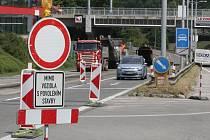 Oprava ulice Hradecká. Ilustrační foto.