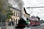 První říjnovou sobotu uspořádali nadšenci cestu z Brna do Oslavan a zpět.