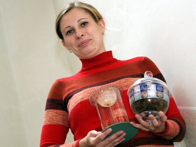 Zdeňka Trkanová bere malování na sklo jako zábavu