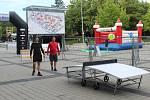 Nově otevřený Sportovní park na brněnském výstavišti.
