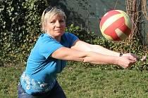 Volejbalistka Eva Adamová.