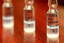 Očkovací vakcína proti tetanu. Archivní foto.