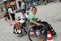 Hry handicapované mládeže v Brně.