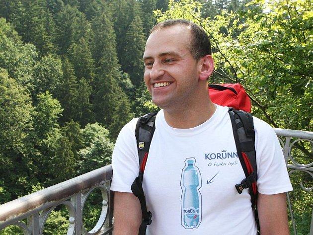 Skálu u propasti Macocha v Moravském krasu ve čtvrtek zdolal třiatřicetiletý horolezec Jan Říha.