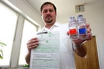 Dopingový komisař Ladislav Svoboda.