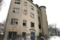 Požár v ulici Milady Horákové.