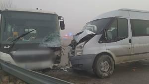 Dopravní nehoda u Žarošic.