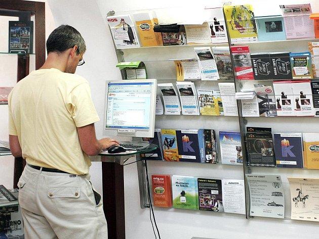 Turistické informační centrum v Brně.