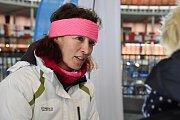 Olympijský festival v areálu brněnského výstaviště - bývalá biatlonová reprezentantka Eva Háková.
