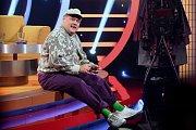 Natáčení nového zábavného pořadu Koptashow v brněnském studiu České televize.