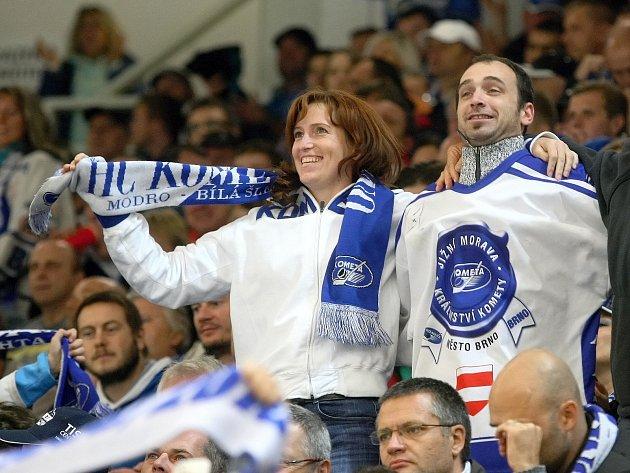 ILUSTRAČNÍ FOTO: Fanoušci hokejové Komety.
