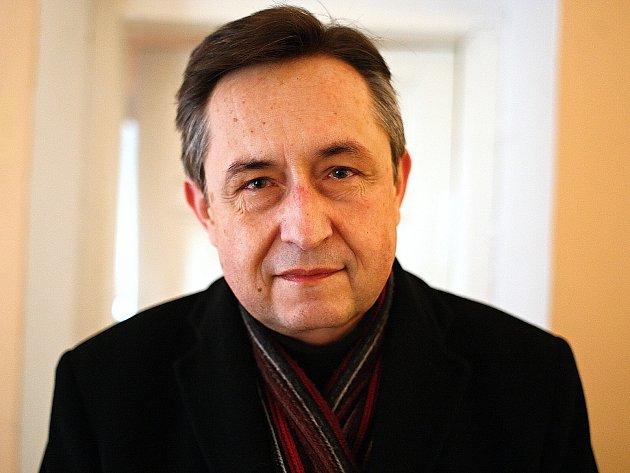 Brněnský malíř a právník Stanislav Sedláček.
