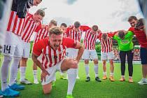 Brněnský kapitán Tomáš Pospiš přijde přinejmenším o podzimní část Superligy malého fotbalu.