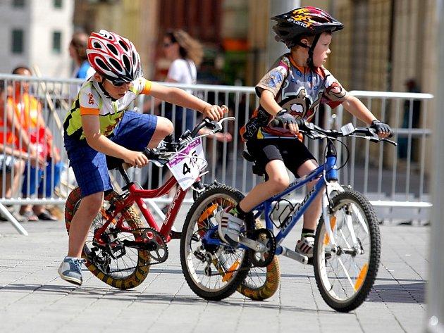 Děti si v centru Brna užily zábavné sportovní odpoledne.