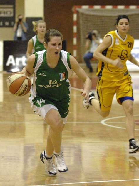 Basketbalistka Romana Hejdová.